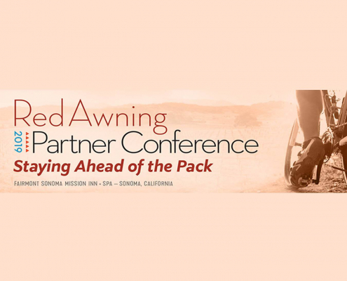 RedAwning conference banner