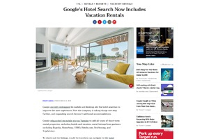 Travel+Leisure-Google's Hotel Search Now Includes Vacation Rentals