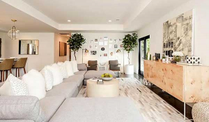 Living Room Designed by Hayley Steele