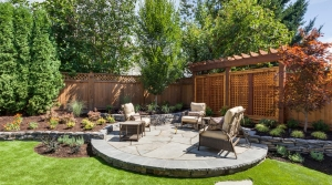 Vacation Rental Backyard Landscaping