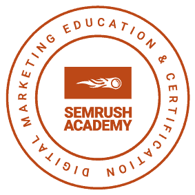SEMRush Certification logo